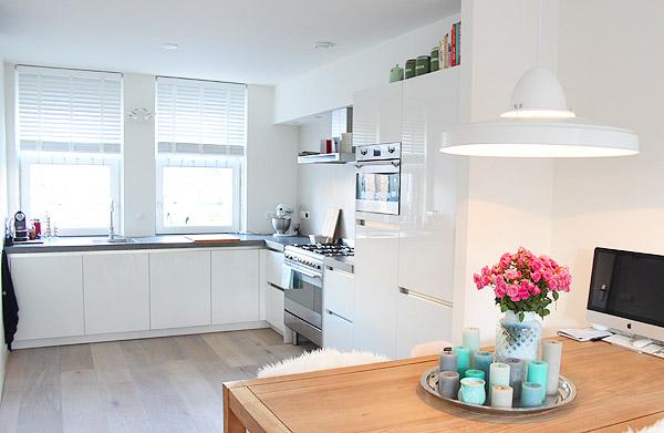 Stunning Keuken En Woonkamer Ineen Contemporary - Ideeën Voor Thuis ...