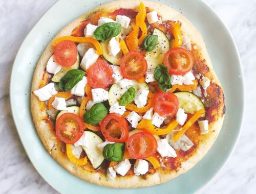 Vegan BBQ chicken pizza – Dainty Dream